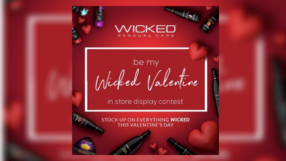 Wicked Sensual Care Launches Valentines Retail Display Contest @WickedSensual xbiz.com/news/256863/wi…