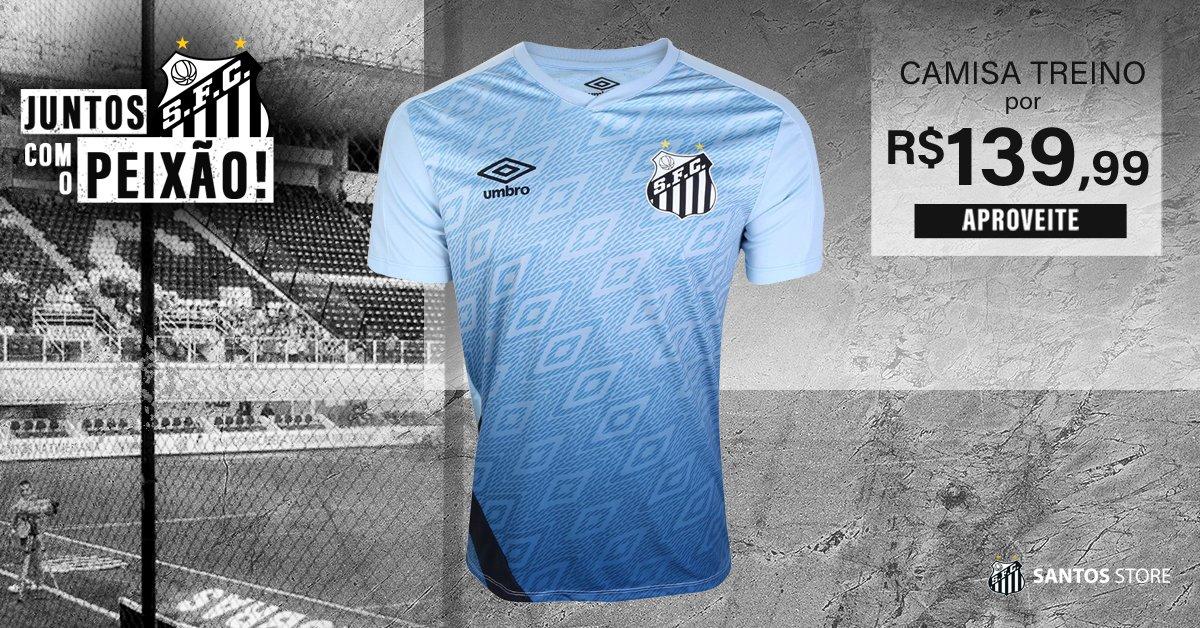 Com mais de 20% de desconto, acesse a Santos Store e aproveite para levar a sua camisa de treino do Peixão!  Garanta aqui: