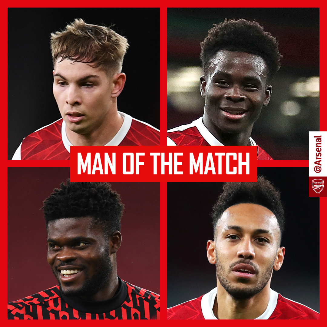🏆 It's time to choose your man of the match...  #ARSNEW
