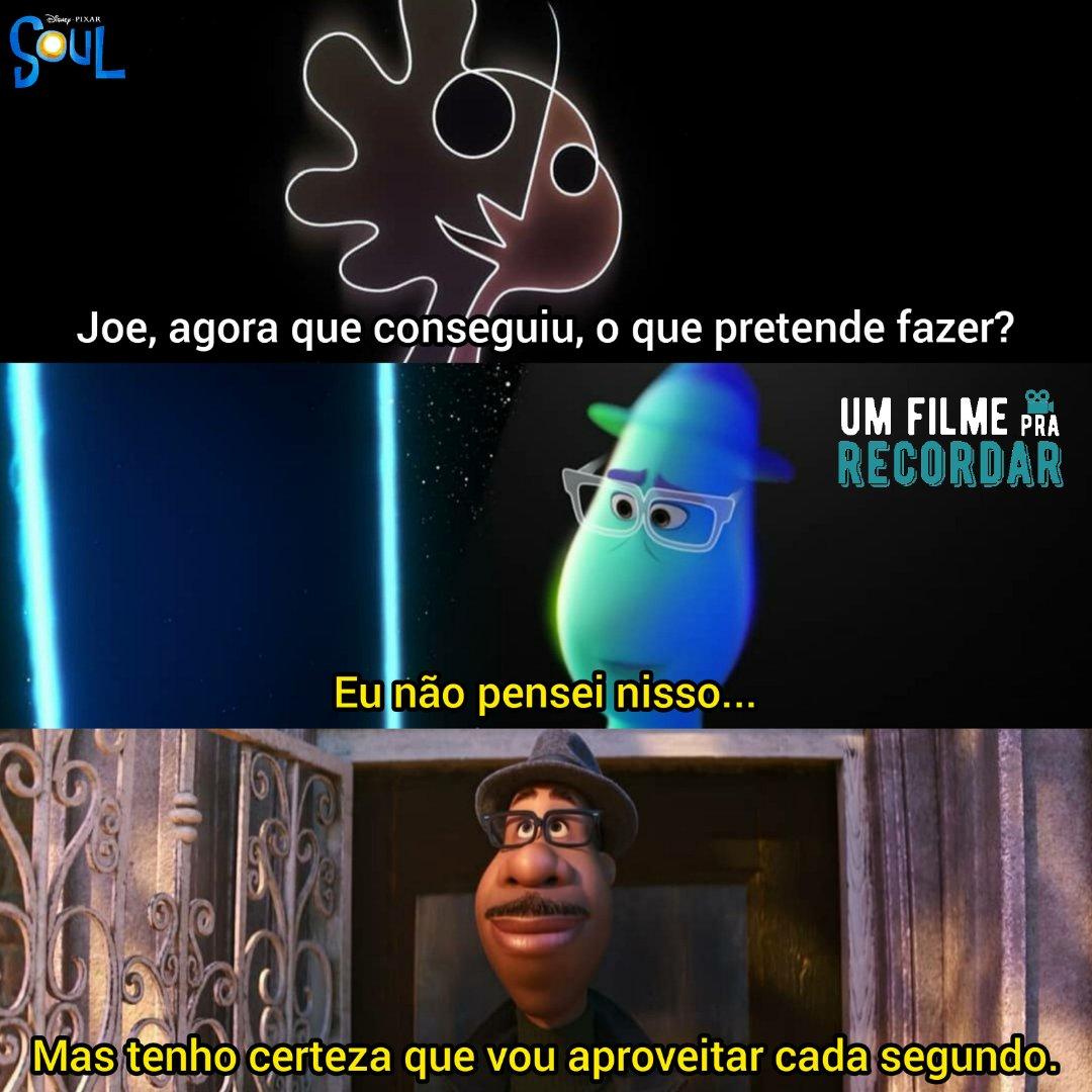 SOUL (2020)  Filme: #Soul Ano: 2020 Direção: #PeteDocter Elenco:#JamieFoxx #TinaFey #Questlove #PhyliciaRashad #DaveedDiggs #AngelaBassett Gênero: #Animação Disponível: @DisneyPlusBR País: 🇺🇲  ••• #UmFilmePraRecordar #SoulMovie #Soulfilme #PixarSoul