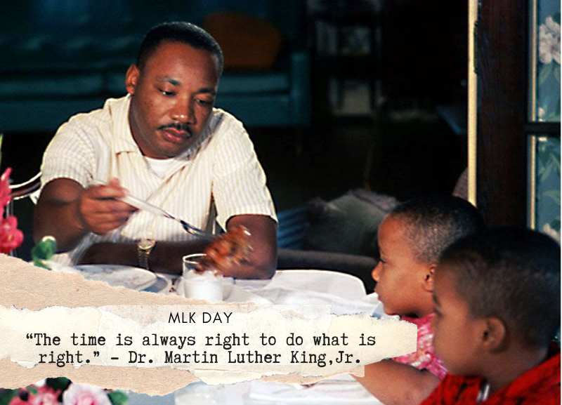 Today, we take a moment to remember Dr. King and his life of service. #MLKDay