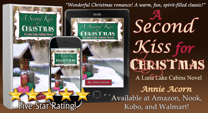 Need to escape from a CoVid world? Try A Second Kiss for Christmas  –my new standalone, full-length novel #LunaLakeCabins #Christmas #Romance Enjoy! #SecondChances #Amazon #Kindle #Nook #Walmart #Kobo #BookBoost #Bookclub #IARTG #SWRTG #TW4RW #WowBooks :-)