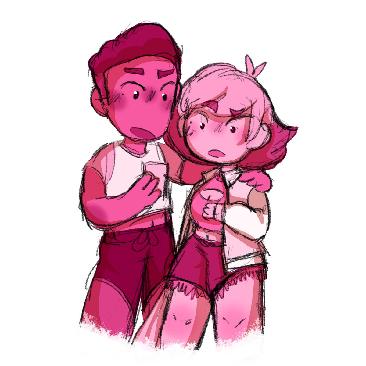 What are they looking at? 🤔  #glimbow #art #drawing #shera #fanart