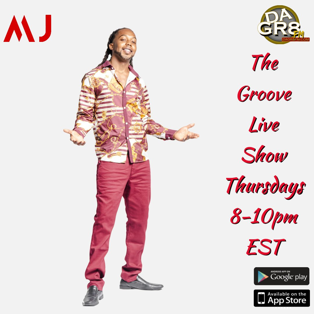 "Make to sure to tune into #TheGrooveLiveShow hosted by ""Melo Jones"" each week for the best news, music and topics.  Exclusively on Miami's #1 Billboard charted Radio Station WKMT-DB Dagr8FM ""Always Connecting the World through Music"".   #canada #nyc #ontario #quebec #montreal"