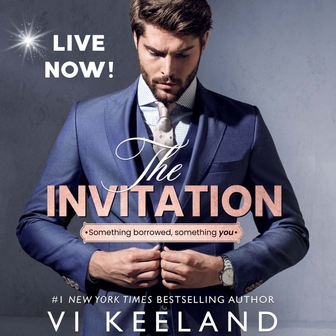 THE INVITATION by @ViKeeland is LIVE!  Amazon:  Apple:  Paperback:  Audio:  Kobo:   #ViKeeland #NowAvailable #TheInvitation #AmReading