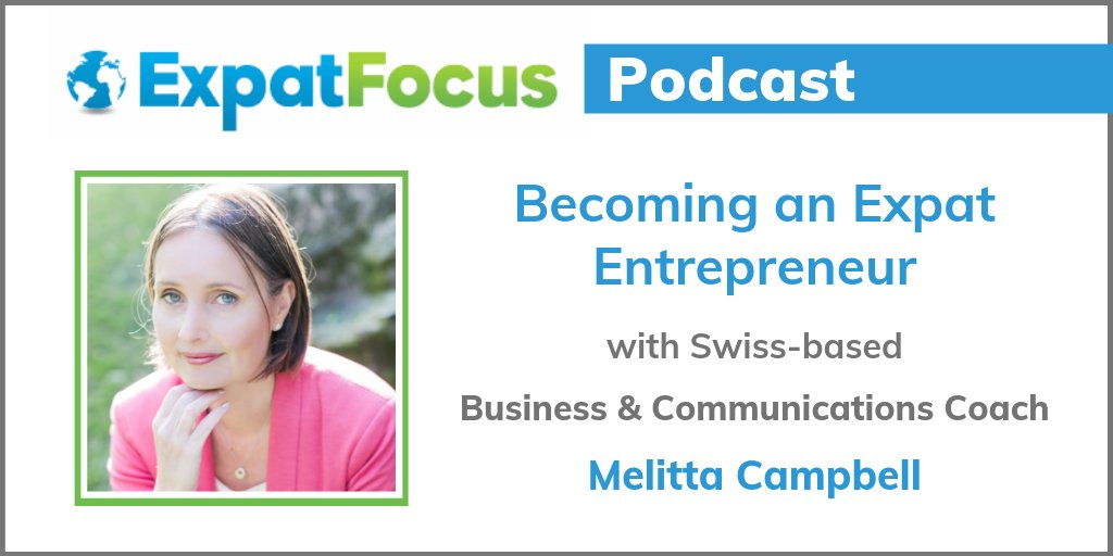 Ever considered becoming an #expatentrepreneur? 🌍 💸  Listen to the @ExpatFocus podcast, where I enjoyed sharing my experiences & #biztips for building a successful #business when abroad.    #ExpatBusiness #LifeAbroad #ExpatLife #howtostartabusiness