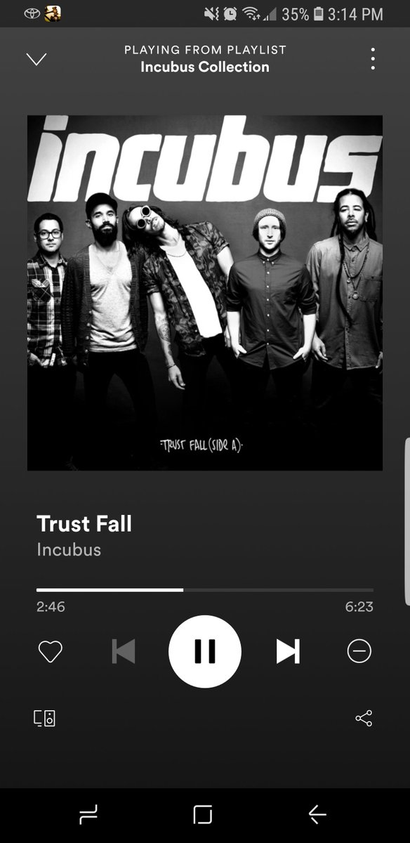 What a #Beautifulbc day- #sun and #blueskies. Perfect for some @IncubusBand 😎  #trustfall #incubuscollection #playlist #vancouver #bluemonday2021 #MotivationMonday