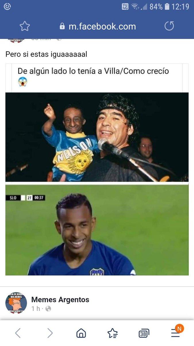 Ya #Maradona lo conocía a #Villa el jugador de Boca Juniors, ahí lo vemos cuando era bebe en brazos del (10⚽️)