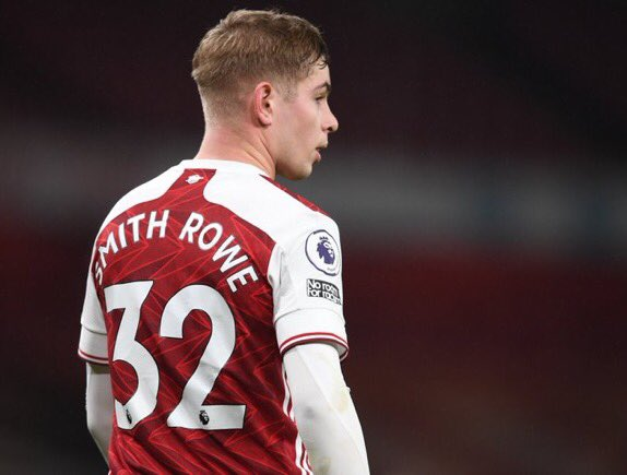 No way this blonde Smith Rowe is also Kevin 🔴⚪️ #ARSNEW