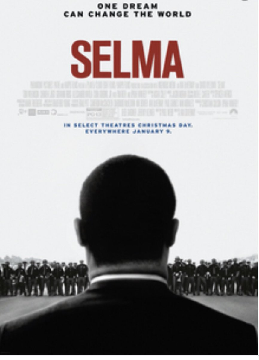 Rewatched @ava's #Selma & I encourage all to view. It's so soul stirring, especially with the Capital insurrection & #Trump administration as a backdrop.   Films like Selma are so damn important! You see the power of protest...