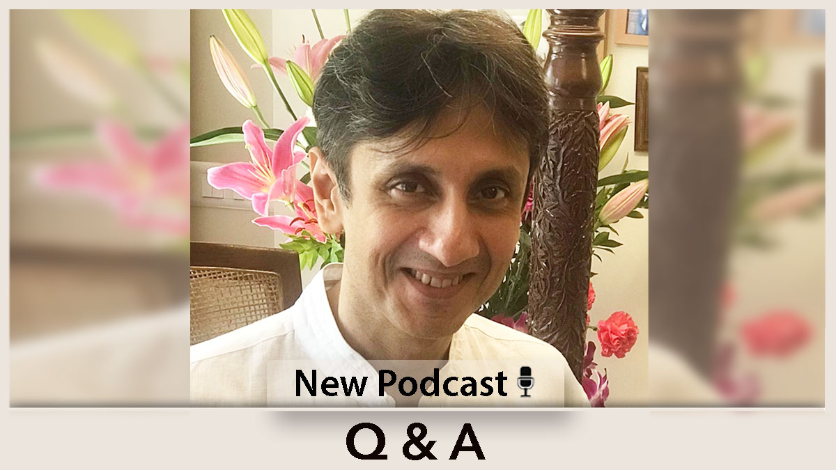 Questions & Answers - 16  Is there a divine plan even in the smallest of the smallest things of our daily life?  Does that mean no action of ours is actually valuable?  Patreon Public Podcast:    #spirituality #divineplan #valuable #advaita #iamthat