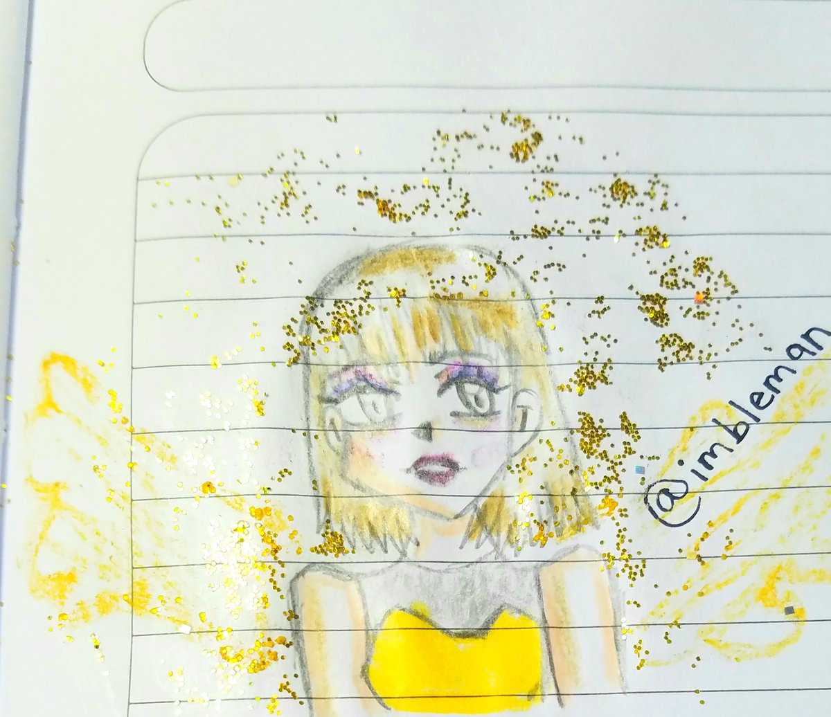 si te ofende mi brillo , hazte a un lado voy a pasar✨😈 * #drawing #draw #imbleman #thebleman #ArtistOnTwitter