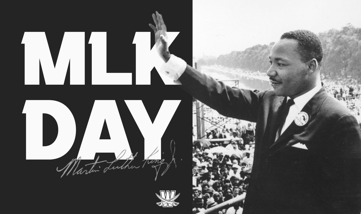 """""""The ultimate measure of a man is not where he stands in moments of comfort and convenience, but where he stands at times of challenge and controversy"""" -Dr. Martin Luther King Jr.   #MLKDAY"""