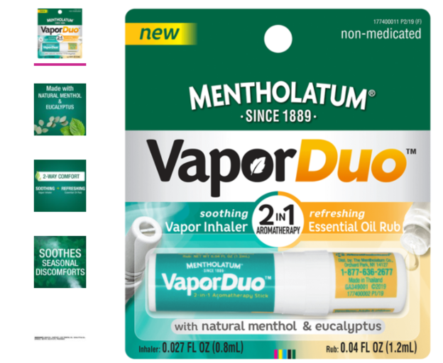 # Winter care Made with natural menthol and eucalyptus, #MentholatumVaporDuo with its soothing vapor inhaler and refreshing essential oil rub is my #ReliefOnTheGo. #TrustedSince1889 #ad Find yours at Walmart today!