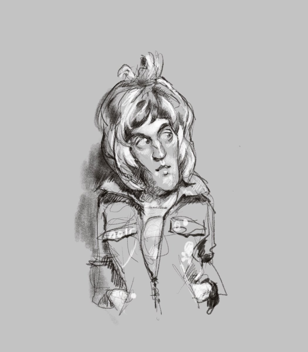 Vince Noir . . #crimp . . #boosh #noelfielding #howardmoon #themightyboosh #illustration #drawing #caricature #procreate #ipad #paperlike