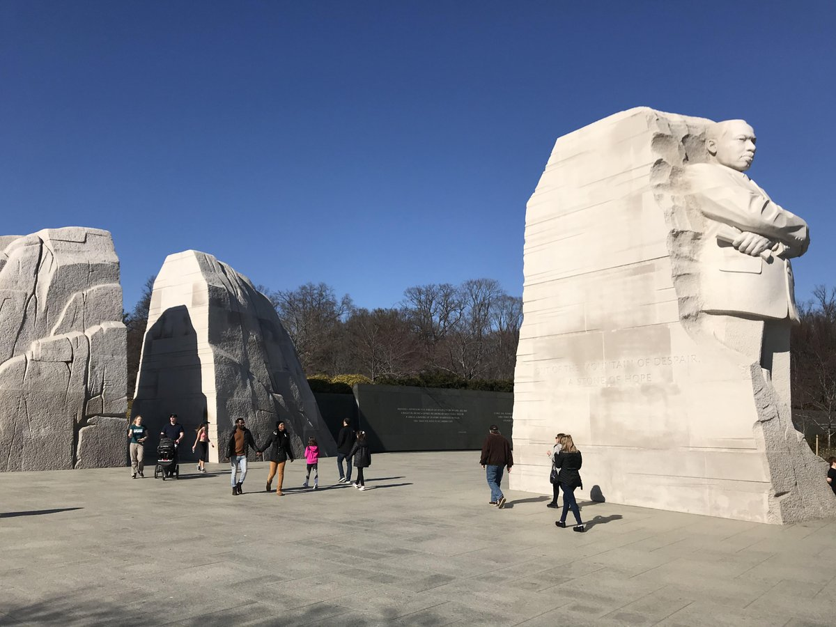 My visit last  year to the #MLKDay2021 Martin Luther King Jr Memorial in Washington DC last year.