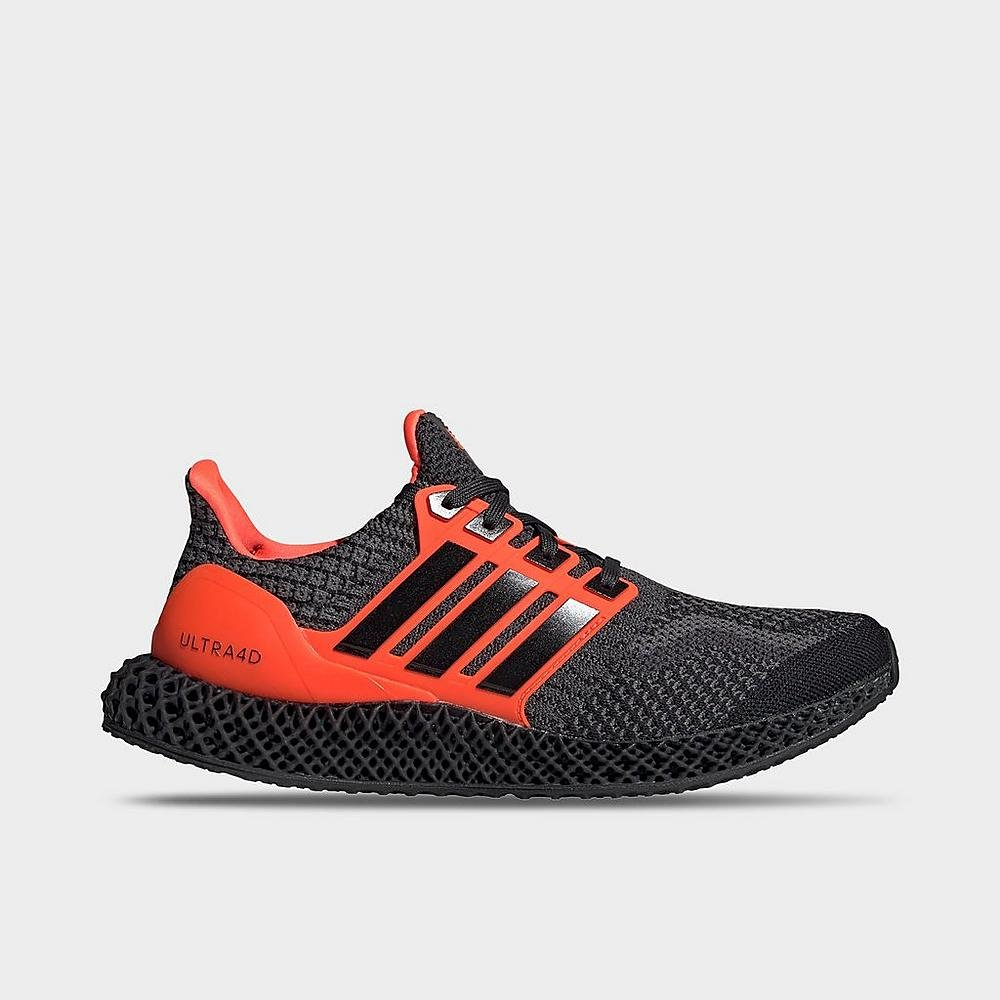 #ad The adidas Ultra 4D 5.0 'Core Black/Solar Red' is now available via @FinishLine for $185! (use code SNOWBALLSOHARD - retail $200) #SneakerScouts @adidasUS