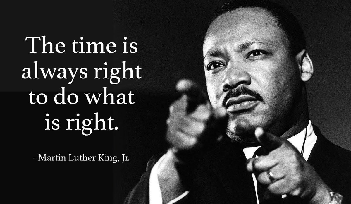 Today we take the opportunity to recognize the contributions of Martin Luther King Jr.  #MLK #MLKDay