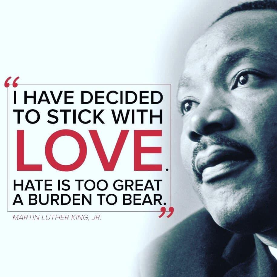 My first graders get it and practice it every day. Let's all commit to being more kind this year to everyone. #MLKDay