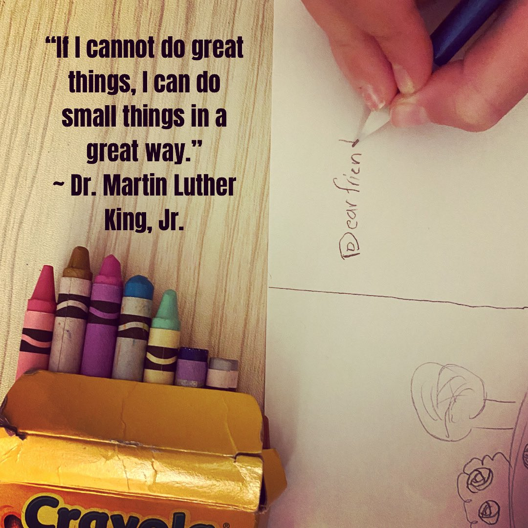 As our tots grow, so do the ways we can celebrate Dr. King's life+advance his legacy. This #MLKDay, we honor Dr. King's call on each of us to be of service to others. Go to @MontCoVolunteer MLKDay for service projects every family can do❤️   #IWillServe