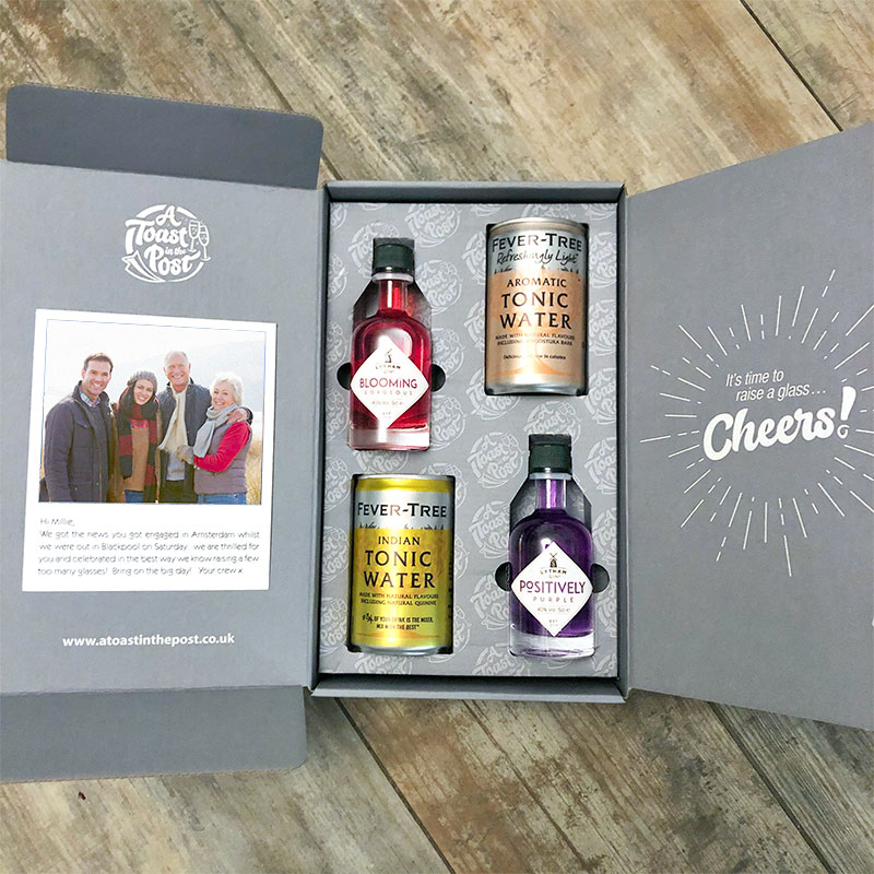 Stay connected with family and friends - send a favourite tipple with a personalised photo card and let them know you are thinking of them. We have a wonderful range of drinks to choose from!  #gift #mondaythoughts #birthday #lockdown #family #gin #QueenOf