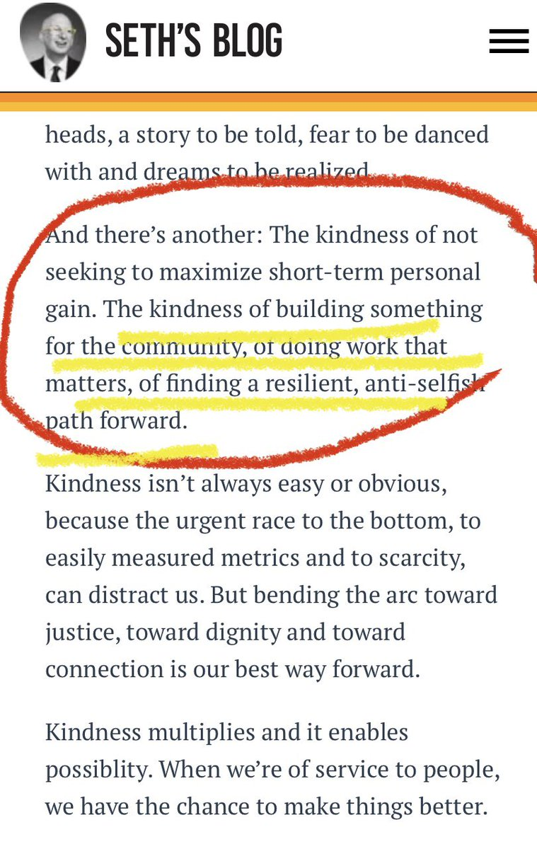 I particularly like this part of the blog- it's one of the most important kindness  @LfEcommunity #PedsICU #kindness