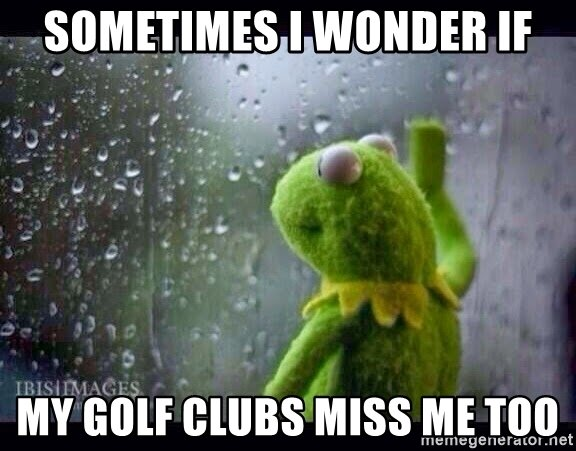 I miss #Golf.... that is all!