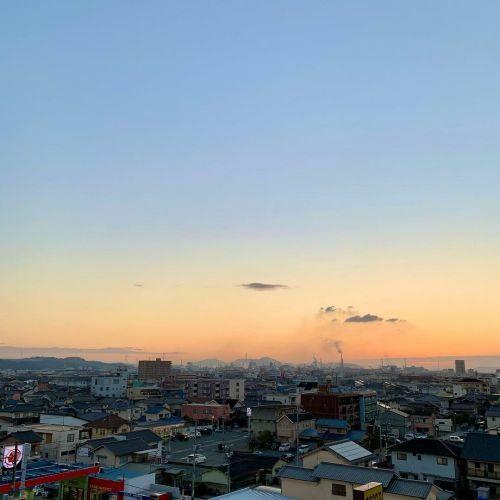 #今朝の空 #k2fotography #kunired #sky #朝空 #冬空 #kuniblue #sun...
