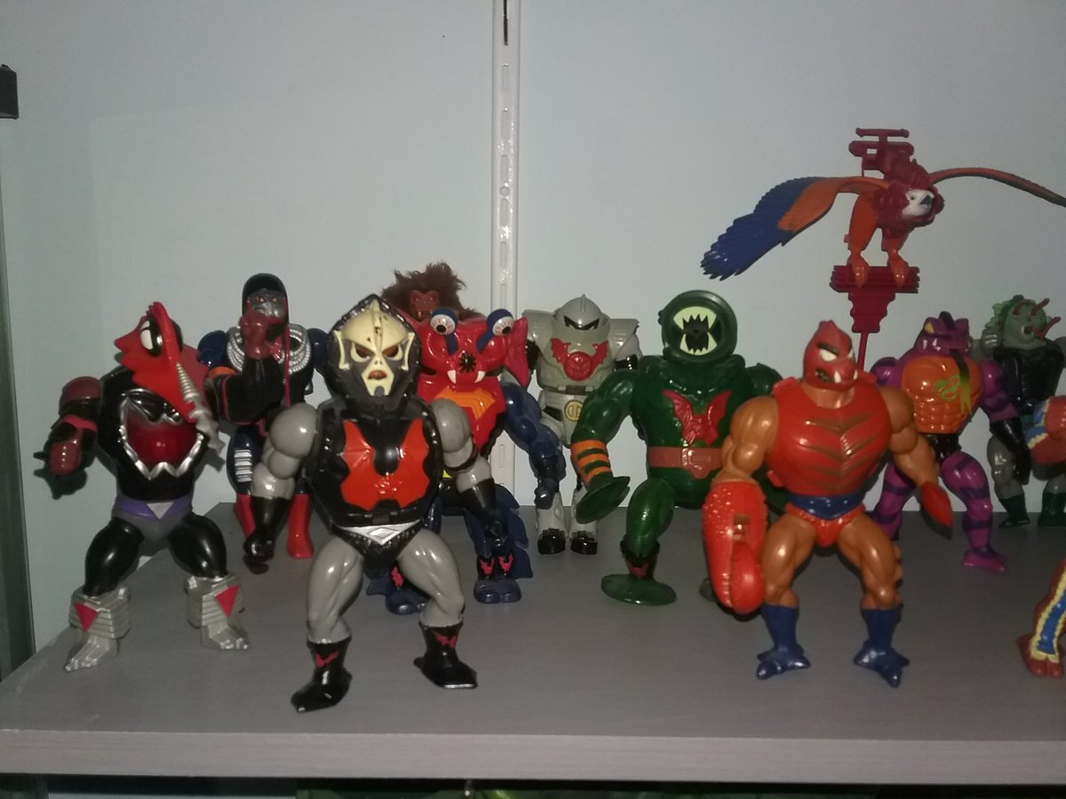 The #evil #horde and the #snakemen #motu had awesome #villians #80stoys #mastersoftheuniverse