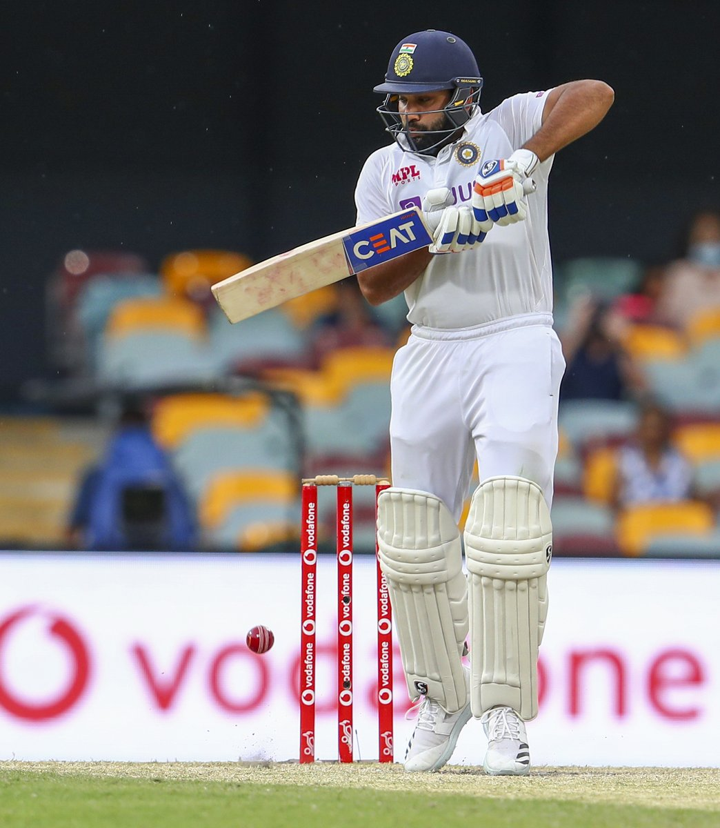 #GabbaTest, Day 5- Huge blow for India, Rohit departs for 7! Pujara walks in. LIVE UPDATES:sify.com/sports/cricket…