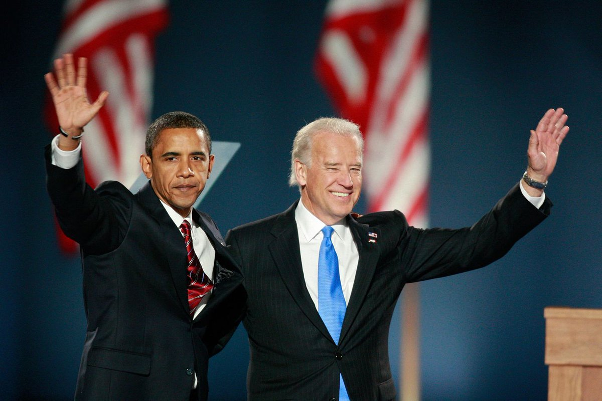 @BarackObama and @JoeBiden in 2008. #BidenHarris2020 #InaugurationDay #Inauguration2021  #Inauguration