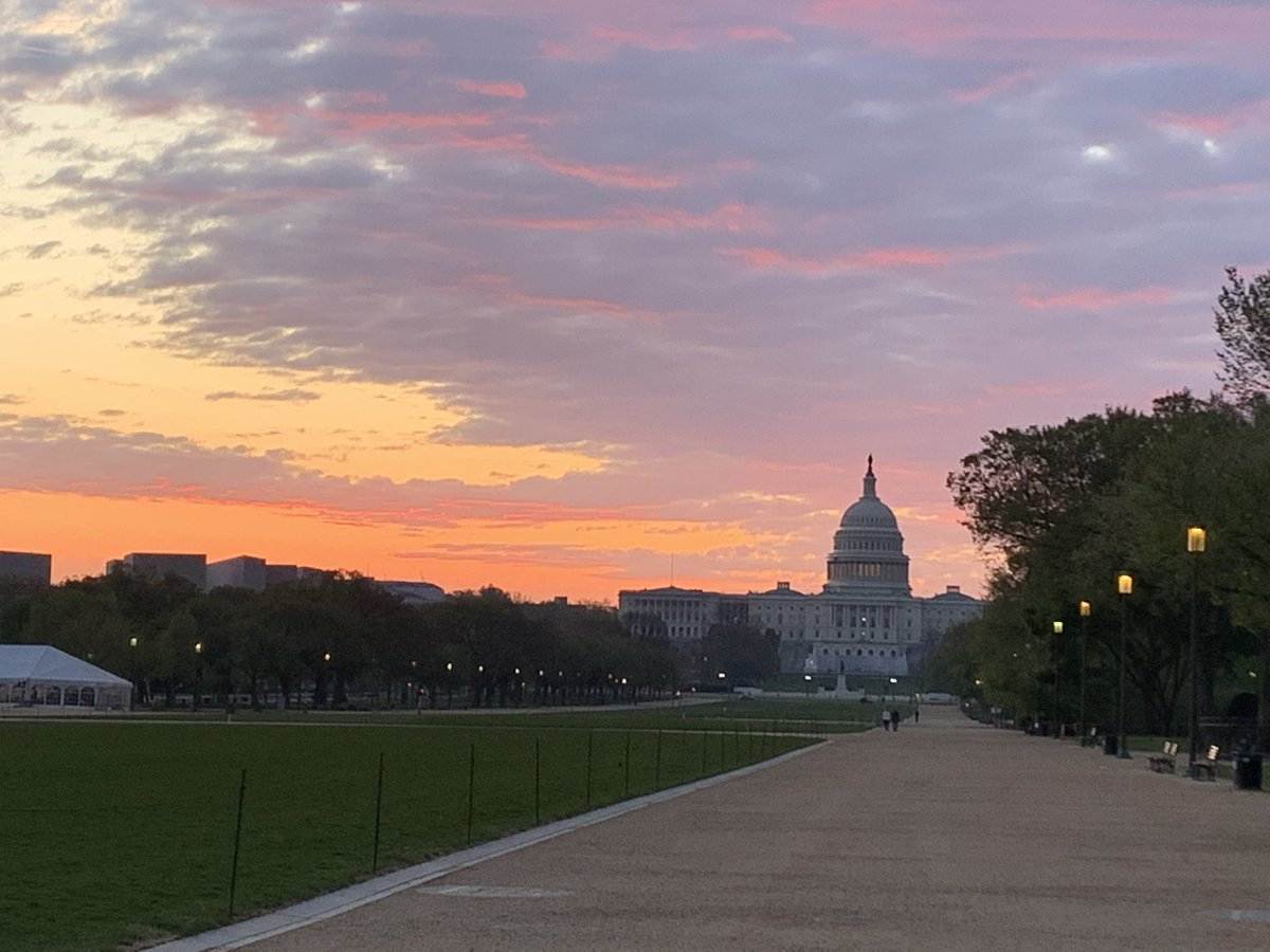 This is where I exercise. Because I never get tired of this view and what it represents. #WeAreDC #51stState
