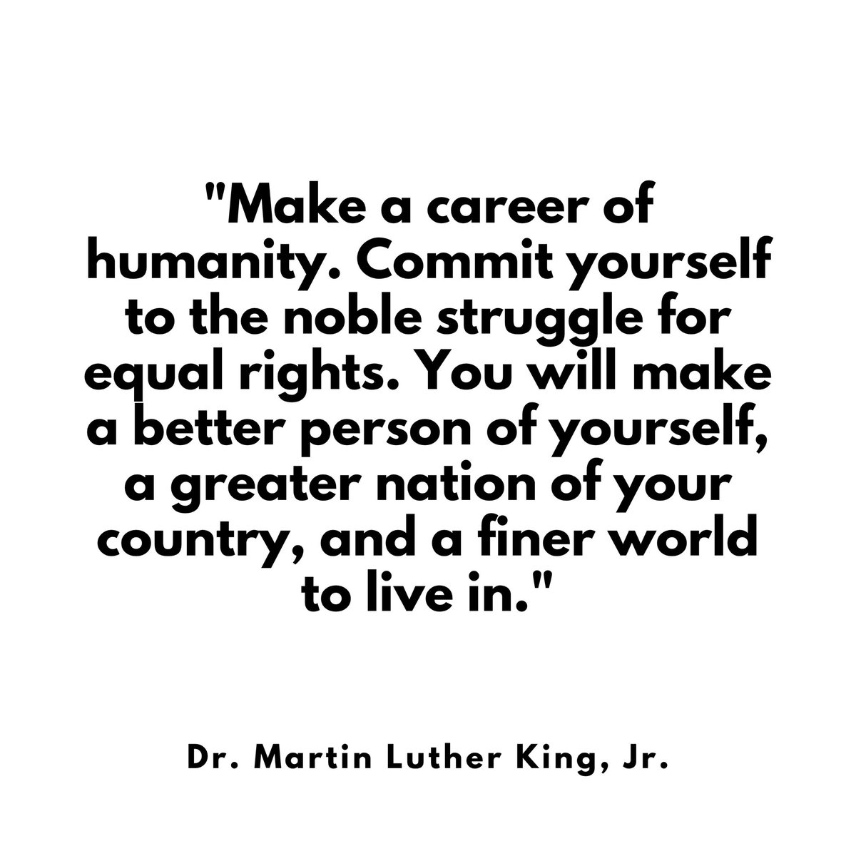 Replying to @TraceeEllisRoss: Thank you, Dr. King. #MLKDay