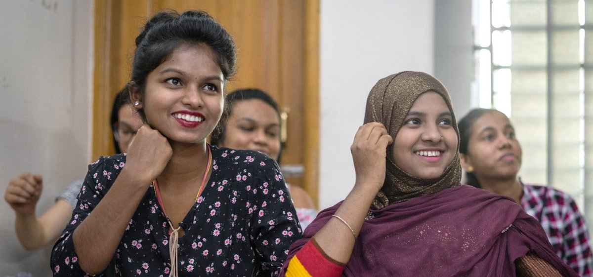 Garment Workers Are Now Being Educated in Bangladesh So They Can Go to College https://t.co/X0gLruBPjm https://t.co/4GkS6mIuyF