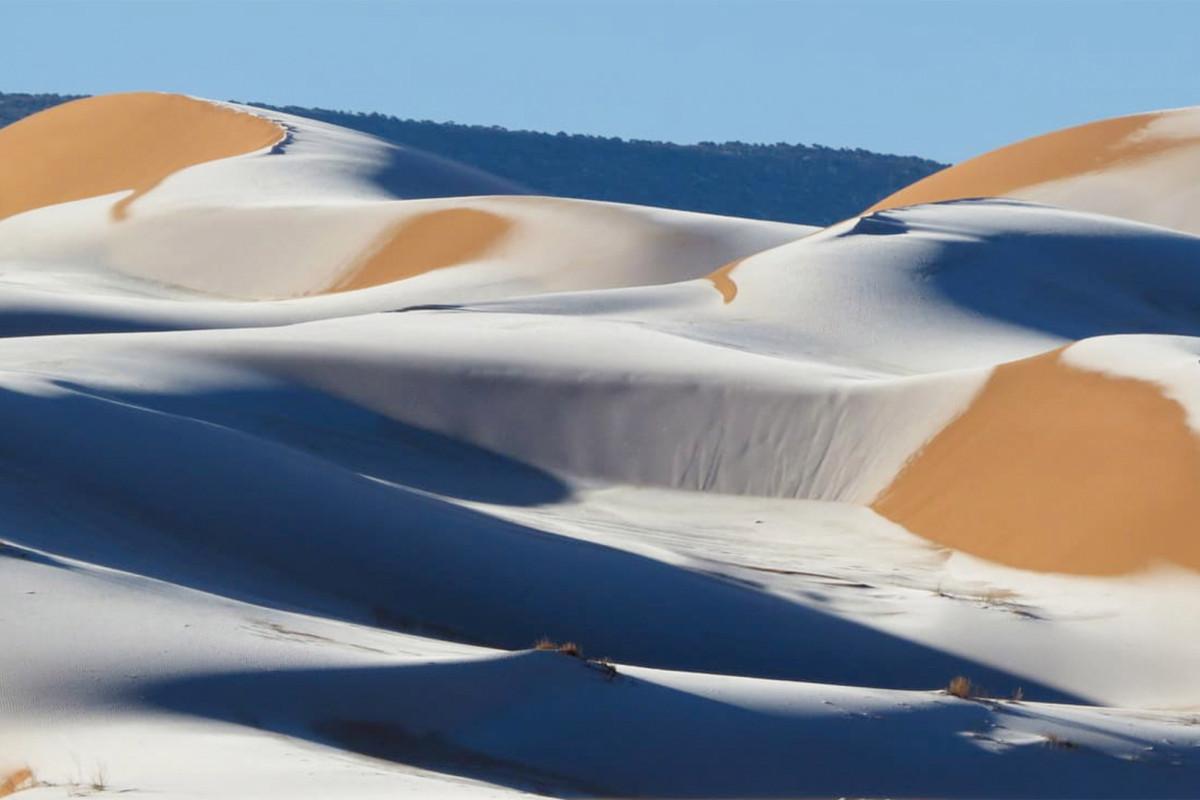 Sahara desert hit by icy blast as snow blankets parts of Saudi Arabia https://t.co/SSZTOeX98r https://t.co/9LZq7YuINi