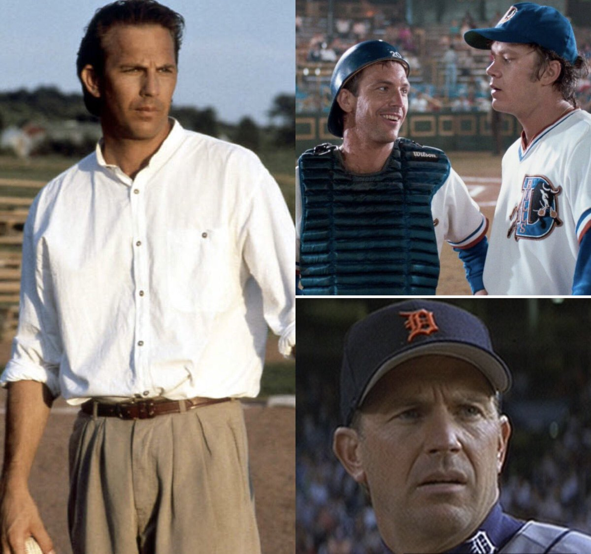 On Kevin Costner's 66th birthday, you can only save one of his baseball movies. Which one do you save? Please quote