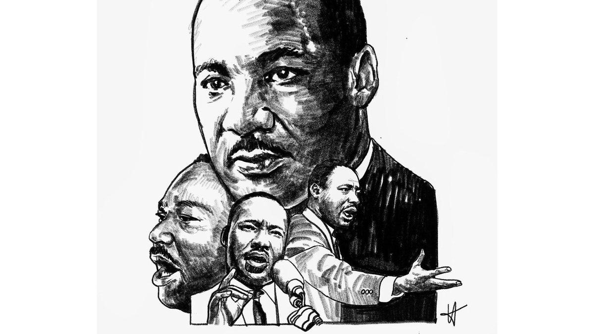 WE SHALL OVERCOME.  Artwork by my book #designer @kentigram ❤️  #MLKDay #mlk #MLK #MartinLutherKing #IHaveADream #design