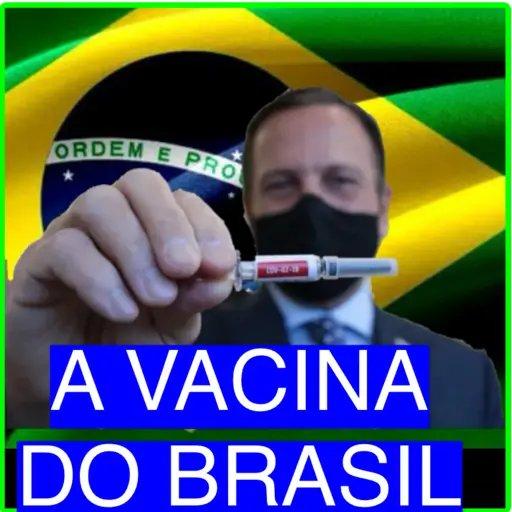 Ave @jdoriajr! !! #CoronaVac  #VacinaDoButantan  #VacinadoBrasil e sigam-me os bons!