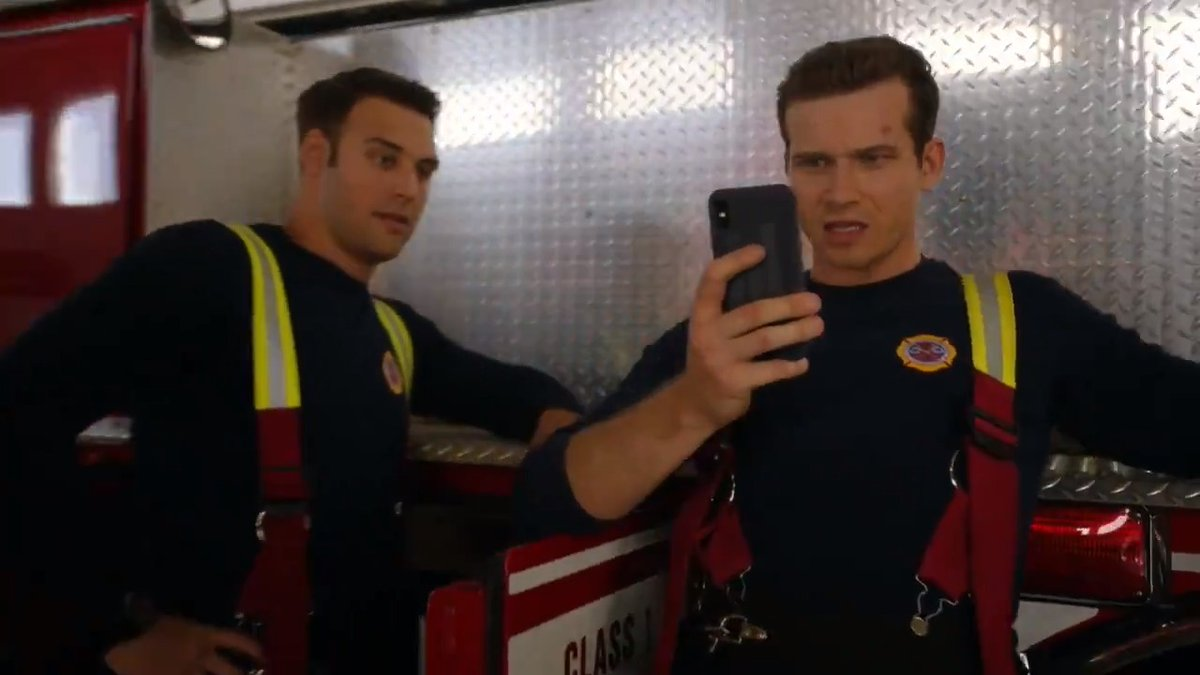 so can we all agree that since buck's covid crush isn't who he thinks it is, it is actually eddie catfishing him in order to hide his real feelings? #911onFOX
