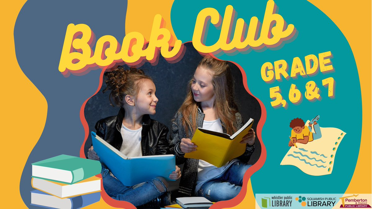 #BookClub for Grade 5-6-7: THIS Wednesday, Jan 20, 4-5 pm on Zoom This book club is for middle-grade kids who love to read. We'll discuss our books, play some literacy games, and experiment with #creative #writing.  More info & registration: