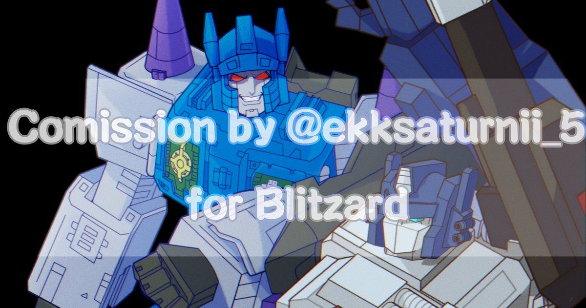 Commission for Blitzard on discord ♥  #Transformers #Overlord #Ginrai