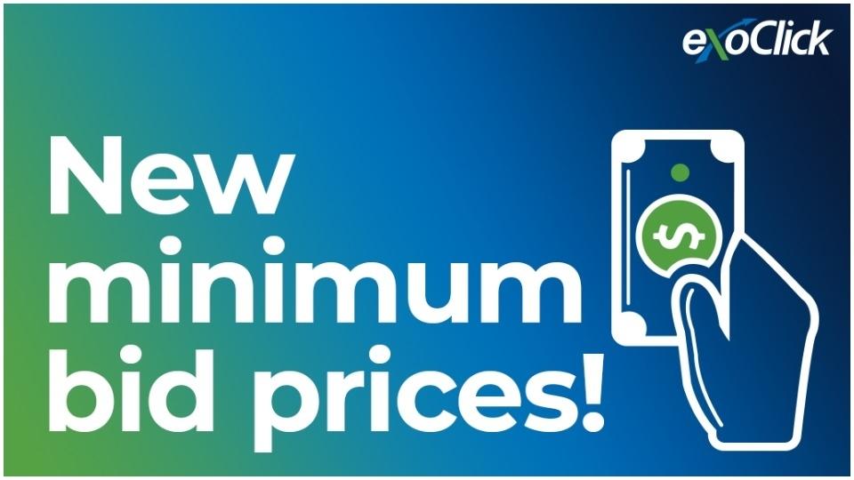 ExoClick Introduces New Minimum Bid Prices @Exoclick xbiz.com/news/256869/ex…
