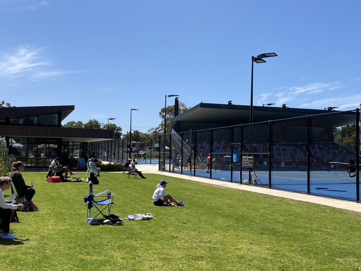 Great action at the Week 1 of the PTT Australia Tournament at the Bendigo Tennis Centre.   Worth getting along to see some of the best tennis players in Australia compete!  #Bendigo #Australia #Tennis #Local #PTTAustralia