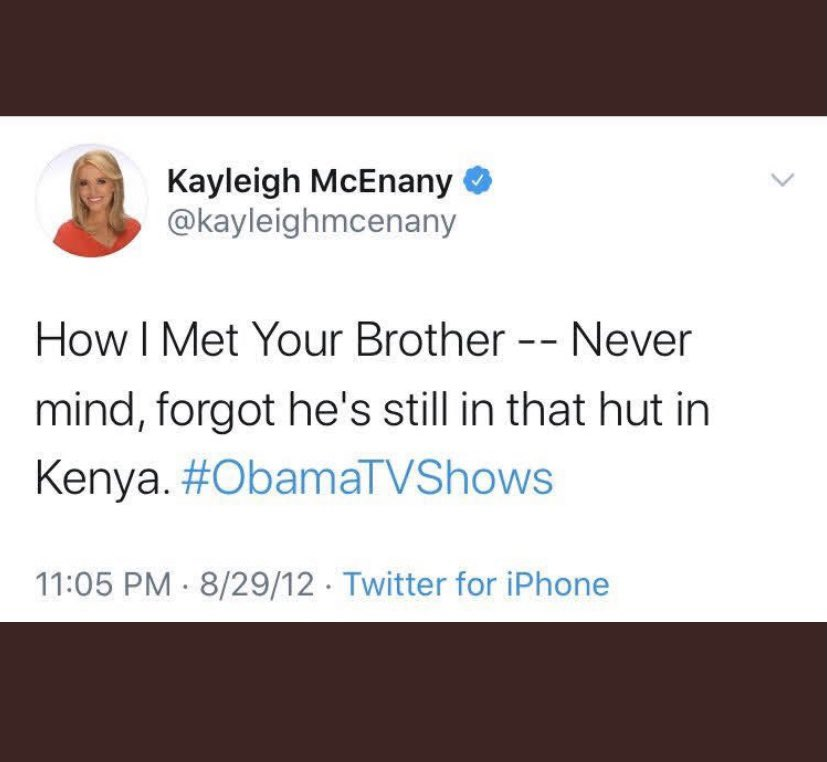Kayleigh McEnany is starting her own social media platform to compete with Twitter.  It's called Hypocritter.