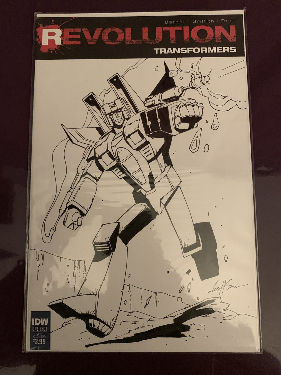 Thank you @geoffsenior4 An ocean in the middle could not prevent this commission from reaching its destinations. Starscream looks awesome, thank you once again! #Transformers #Starscream #GenerationOne #Artwork #FauxCon