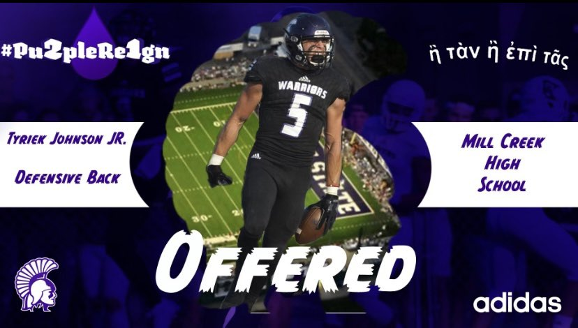 AGTG !! BLESSED to receive an offer from Winona State University !! @Rocco_DiMeco @MCFootballCoach @coachjlovelady @MC_Recruiting  🙏🏾🙏🏾 #J77