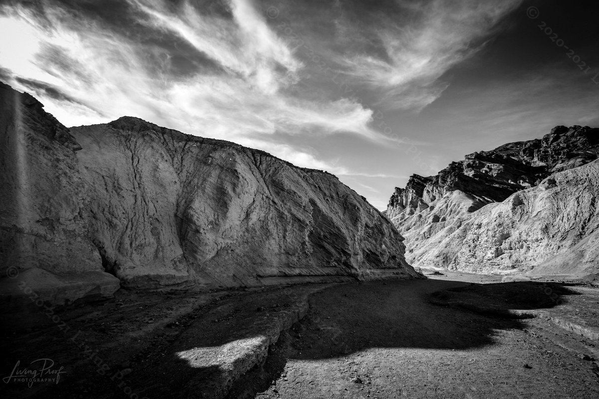 Here's a #blackandwhitephoto from a trip to @DeathValleyNPS in #Gower #Gulch area. So many #beautiful things to see. This will soon be available on my #Website to #purchase All #Sales proceeds (after print & ship costs) donated to #charity  @SeanMorreale