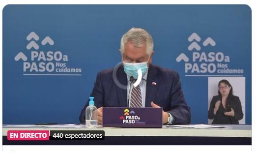 """Te recomendamos leer 📢Los permanentes errores comunicacionales del ministro #Paris por 2da Ola de #Coronavirus : El 30 de noviembre dijo """"Creo que es una realidad"""" y hoy dice """"No veo todavía una segunda ola"""" ➡️ a través de @infogatecl"""