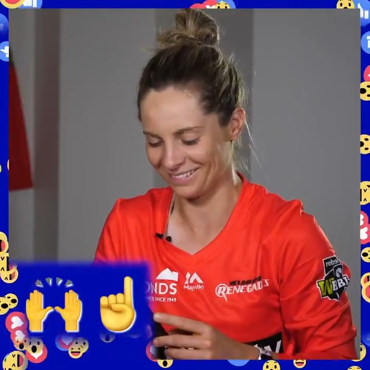 🙌👆 Can you work out what these two emojis mean in backyard cricket language?!  Catch episode three of BlastCast, the cricket show for kids: