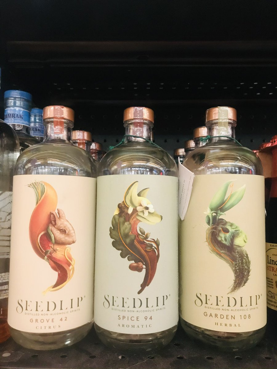 More #DryJanuary options... have you tried these non-alcoholic spirits by @SeedlipDrinks ?  #noalcohol #january #Minneapolis